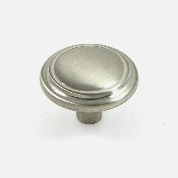 Stone Mill Hardware Satin Nickel Sidney Cabinet Knob (Pack of 25 ...