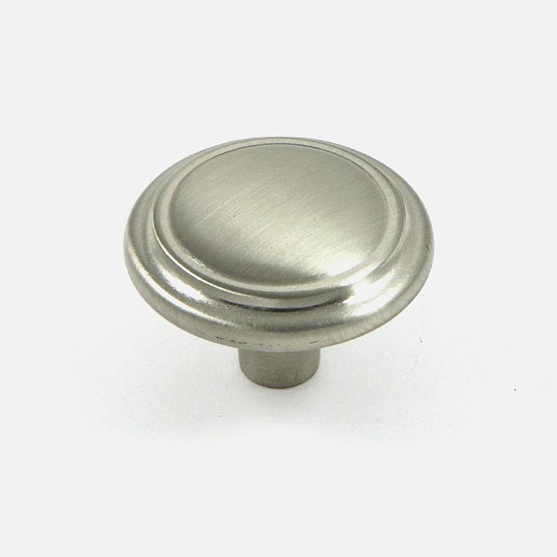 Stone Mill Satin Nickel Sidney Cabinet Knob (Pack of 5) (...