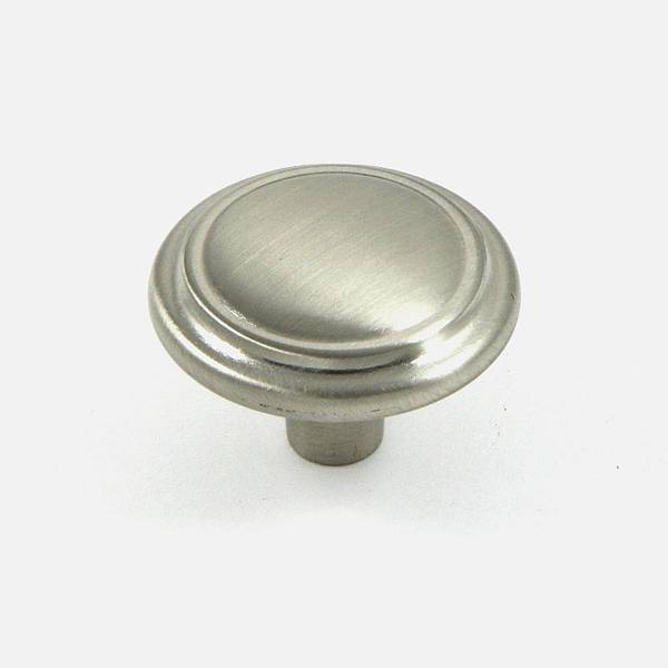Stone Mill Hardware Satin Nickel Sidney Cabinet Knob (Pack of 5)