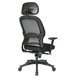 Office Star Mesh Manager Chair with Headrest - Thumbnail 1