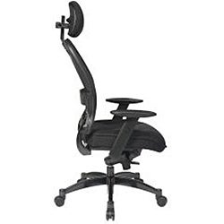 Office Star Mesh Manager Chair with Headrest - Thumbnail 2