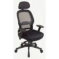Office Star Mesh Manager Chair with Headrest
