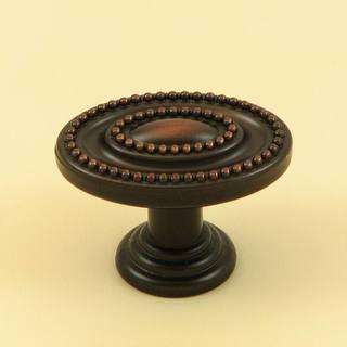 Stone Mill Hardware Oil Rubbed Bronze Ashton Cabinet Knob (Pack of 5)