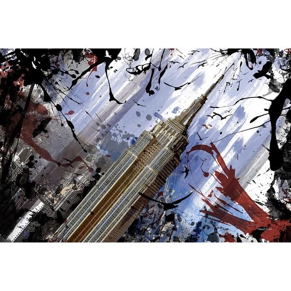 Maxwell Dickson 'At The Top' Wall Decor Canvas Art