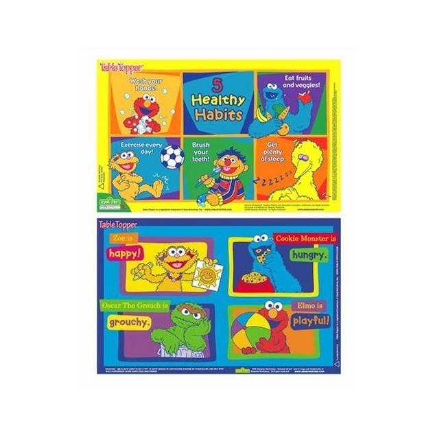 Neat Solutions Sesame Street Table Toppers (Pack of 18)