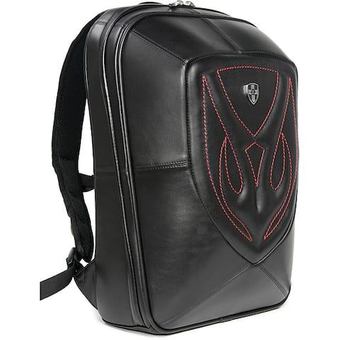 Zeyner Backfire Leather Laptop Backpack
