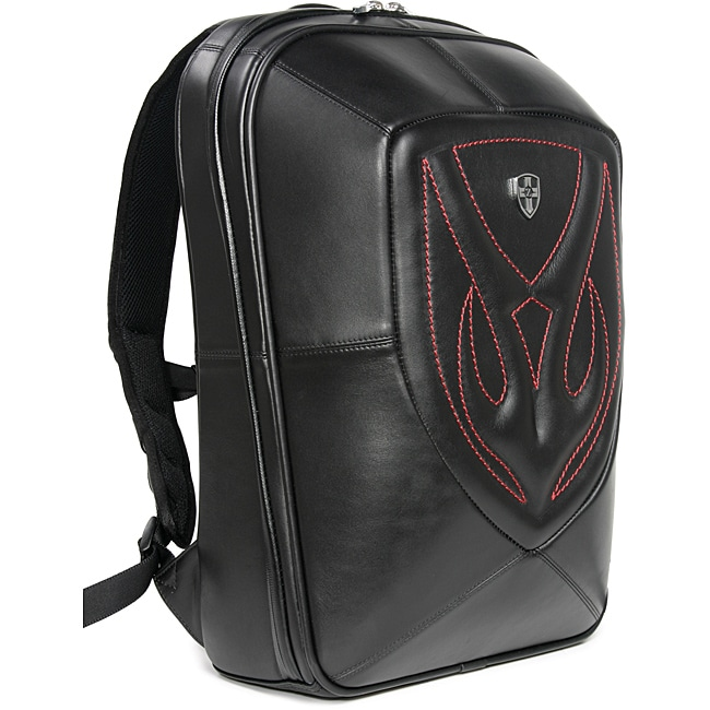 Zeyner Backfire Leather Laptop Backpack - Free Shipping Today ...