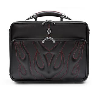 Zeyner Bullfight Leather Top-Zip 17-inch Laptop Briefcase|https://ak1.ostkcdn.com/images/products/6443040/P14044611.jpg?impolicy=medium