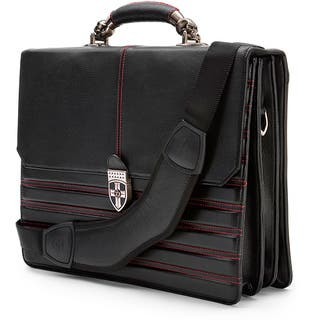 Zeyner Hellbound Leather 17-inch Laptop Portfolio Briefcase|https://ak1.ostkcdn.com/images/products/6443042/P14044606.jpg?impolicy=medium
