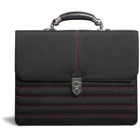 Zeyner Hellbound Ballistic Nylon Flapover Laptop Briefcase