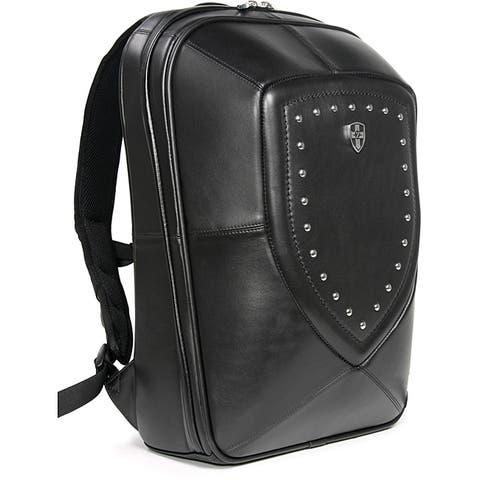 Zeyner Backlash Leather Laptop Backpack