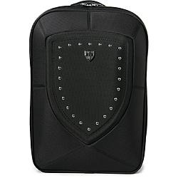 Zeyner Backlash Ballistic Black Nylon Laptop Backpack with Sleeve