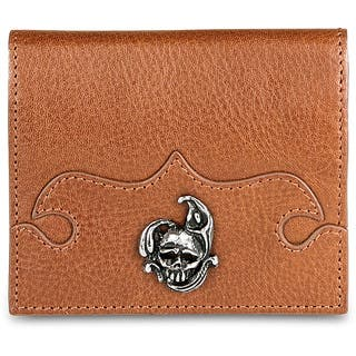 Zeyner Cognac Leather Credit Card and ID Case|https://ak1.ostkcdn.com/images/products/6443060/P14044618.jpg?impolicy=medium