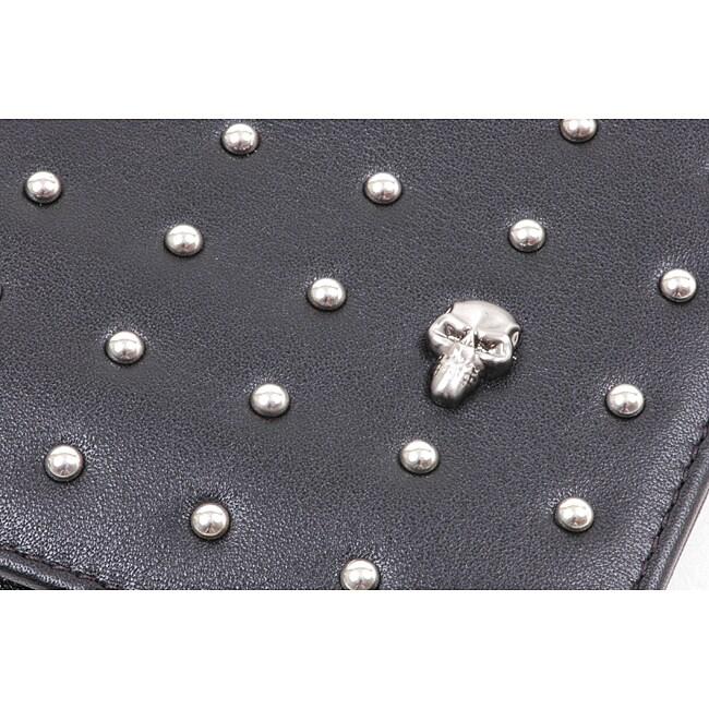 Zeyner Men's 'Stud Max' Bi-Fold Leather Wallet