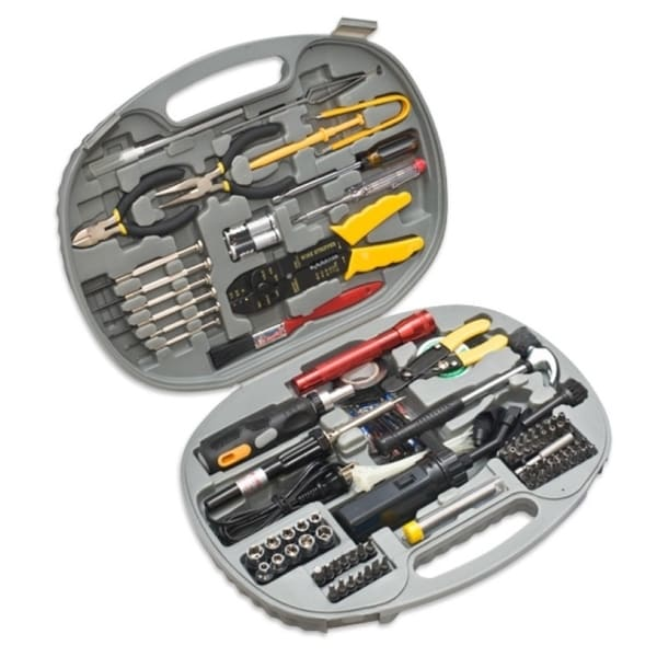SYBA Multimedia 145 Piece Computer Electronic Tool Kit with Wire Cutter