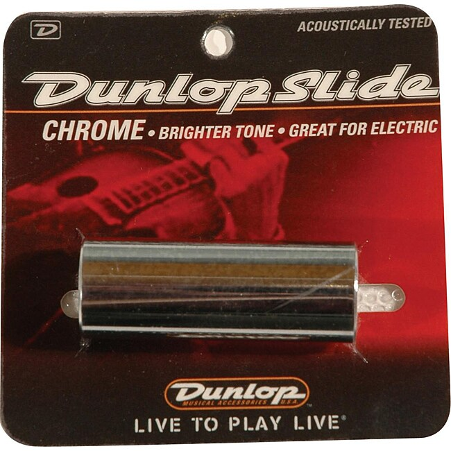 Dunlop 220 Metallic Chromed Steel Medium Slide