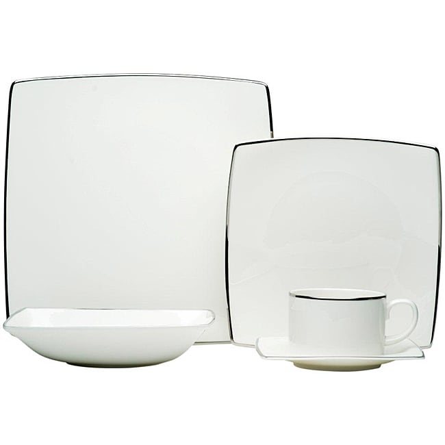Red Vanilla 'Spin Platinum' 5-piece Place Setting