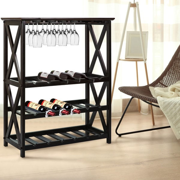 Montego X 18 Bottle Wine Rack