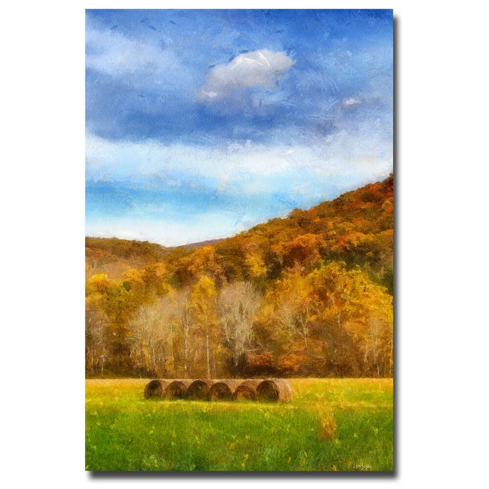 Lois Bryan 'The Harvest' Canvas Art