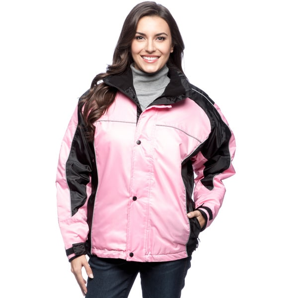 Sledmate Womens Pink Fleece Lined Jacket