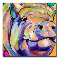 Pat Saunders-White 'Potbelly' Canvas Art