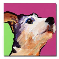 Pat Saunders-White 'Ollie' Animals Canvas Art