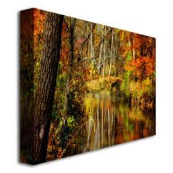 """Lois Bryan 'Bob's Creek' Gallery-Wrapped Canvas Art (16"""" x 24"""") - Thumbnail 1"""