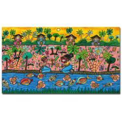 'Summer Love' Canvas Art