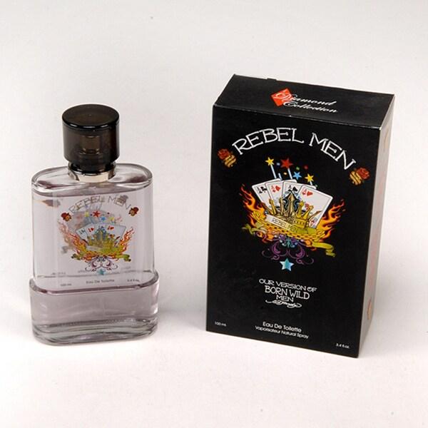 Diamond Collection Rebel Men Men's 3.4-ounce Eau de Toilette Spray