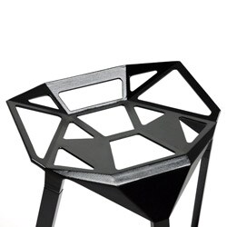 Modern Black Metal Bar Stool By Baxton Studio Free