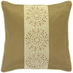 Mons Khaki/Tan Decorative Pillow - Thumbnail 0