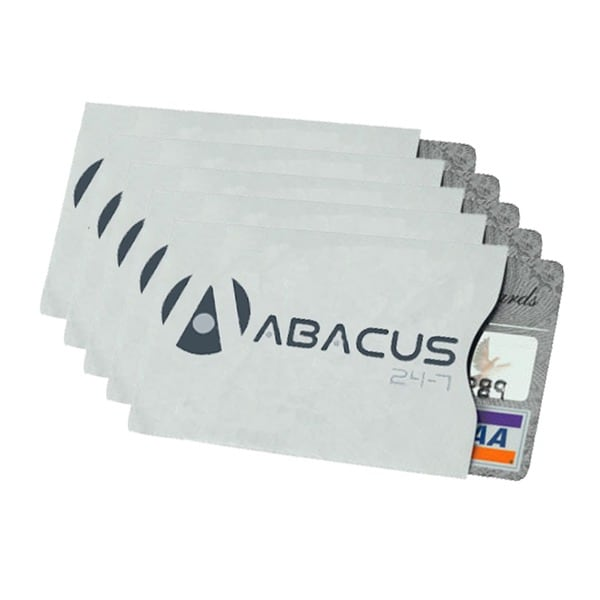 Abacus24-7 ID/Credit Card Secure Sleeve (Pack of 5)