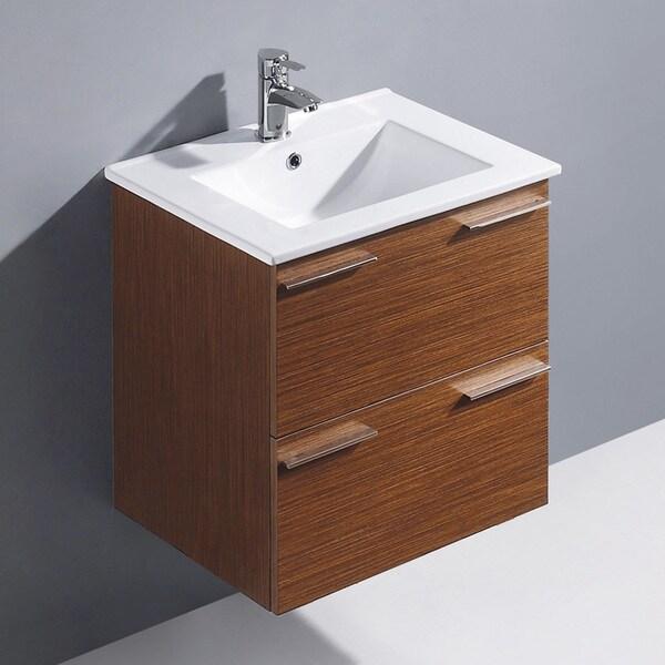 vigo 24inch opehelia single wallmounted bathroom vanity