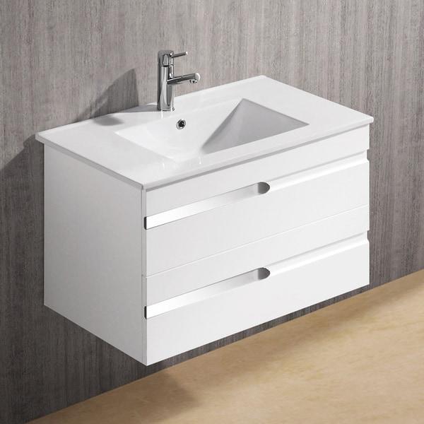 Vigo 32-inch Ethereal-Petit Single Bathroom Vanity