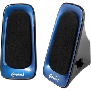 SYBA Multimedia 2.0 Speaker System - 6 W RMS - Blue, Black