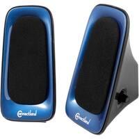 SYBA Multimedia 2.0 Speaker System - 6 W RMS - Blue, Black
