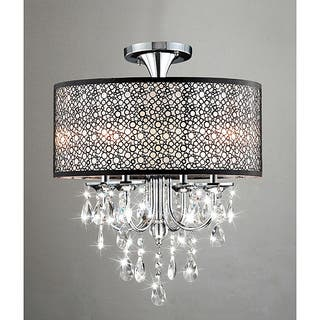 chandelier accents light and imports p world fabric drop with bronze annelise chandeliers crystal shades crystals