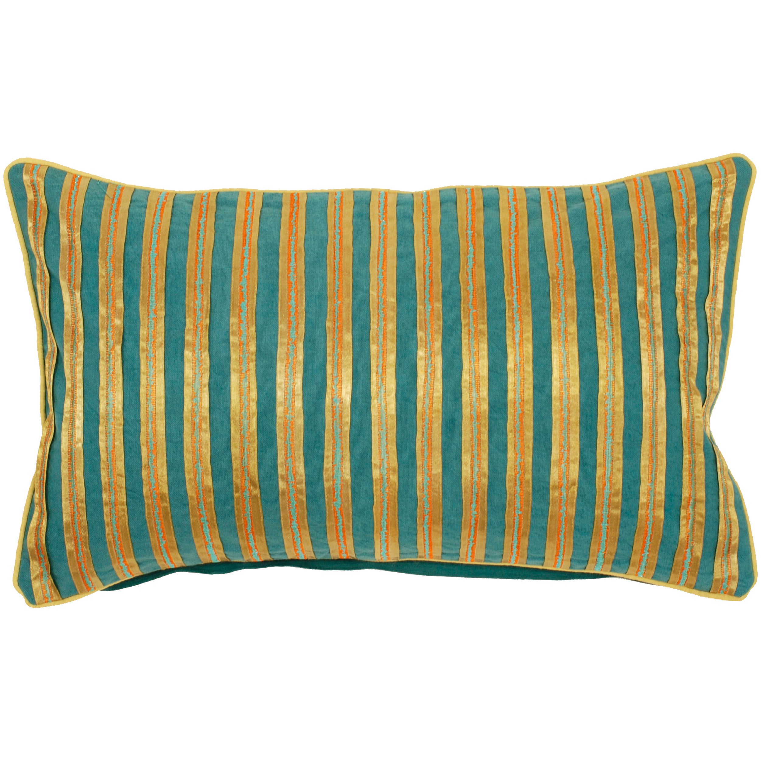 Decorative 13-inch Zug Pillow
