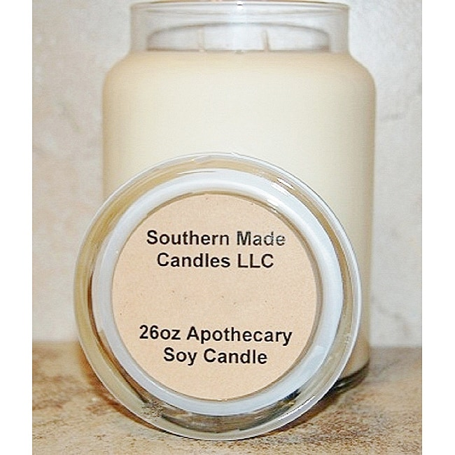 Southern Made Candles Ivory 26-oz Apothecary Soy Candle