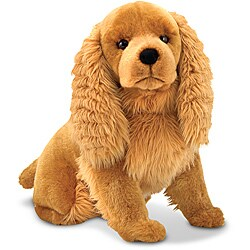 Melissa & Doug Plush Cocker Spaniel Stuffed Animal