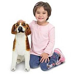 Melissa & Doug Plush Beagle Stuffed Animal - Thumbnail 1