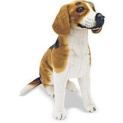 Melissa & Doug Plush Beagle Stuffed Animal