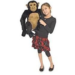 Melissa & Doug Plush Chimpanzee Stuffed Animal - Thumbnail 1