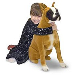 Melissa & Doug Plush Boxer Stuffed Animal - Thumbnail 1
