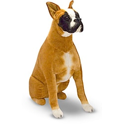 Melissa & Doug Plush Boxer Stuffed Animal - Thumbnail 0