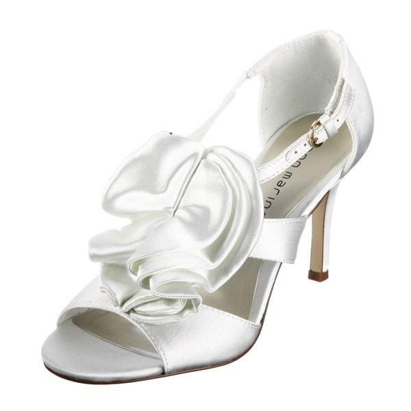 eba06ff61ab691 Shop Ann Marino Women s  Honeybun  Tiered Ruffle Heels - Free ...