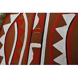 Pacific Solution Collectors Native American Tribal War Shield