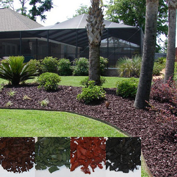 Shop Yardwise Rubber Landscape Mulch Multiple Colors