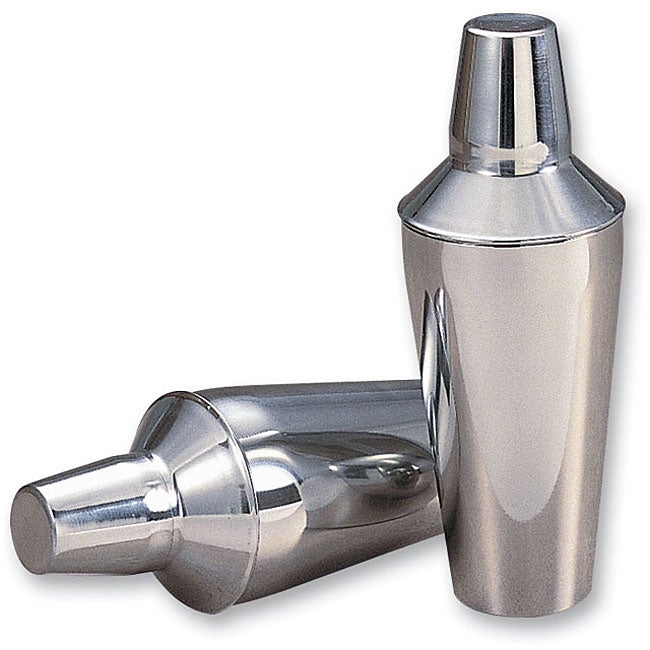 Mirrored Stainless Steel Cocktail Shaker