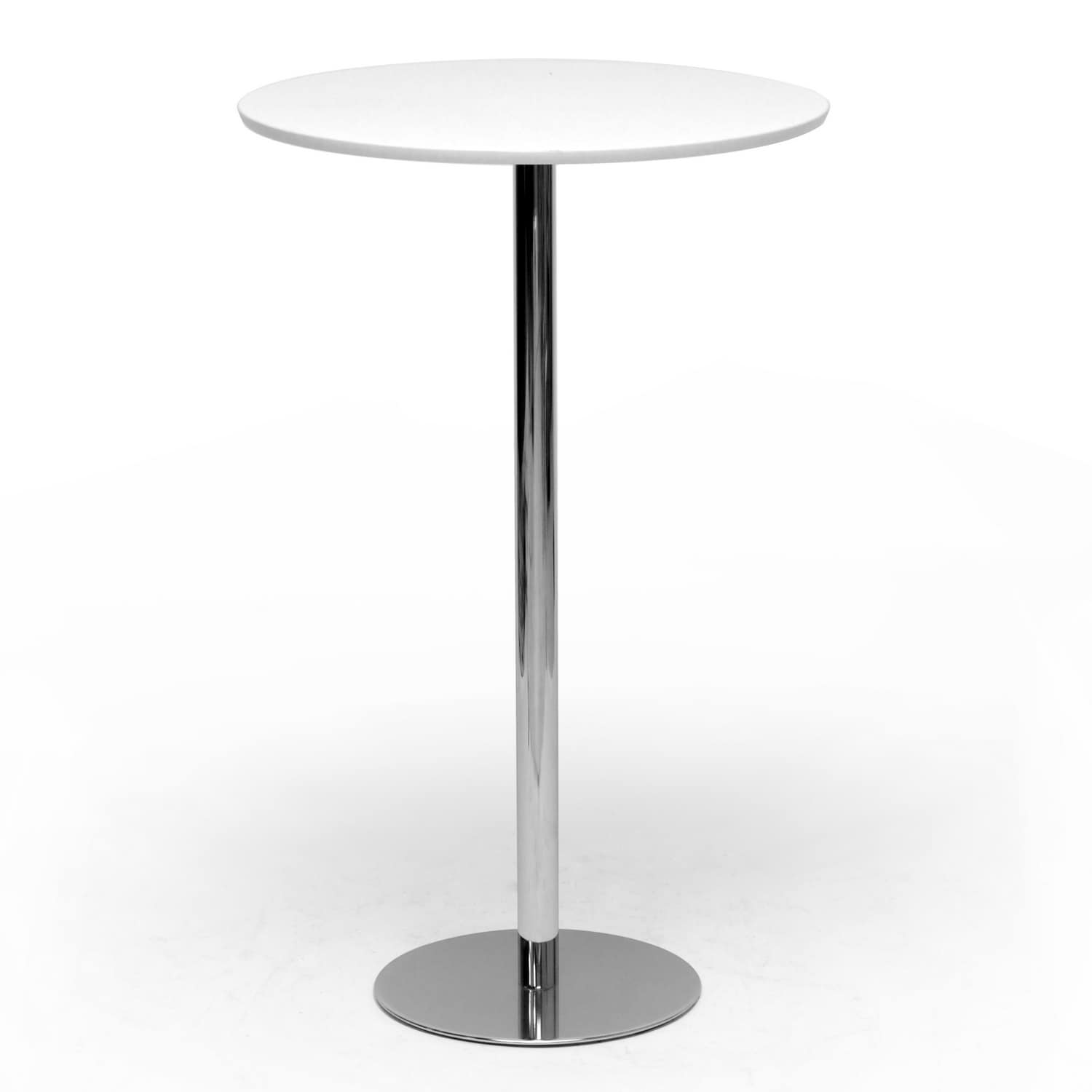 Cordova Modern White Bar Table Free Shipping Today